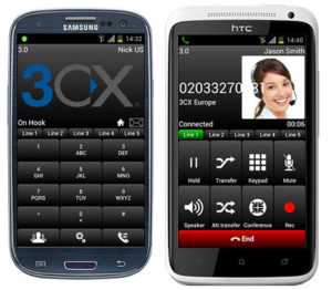 3rd party softphone